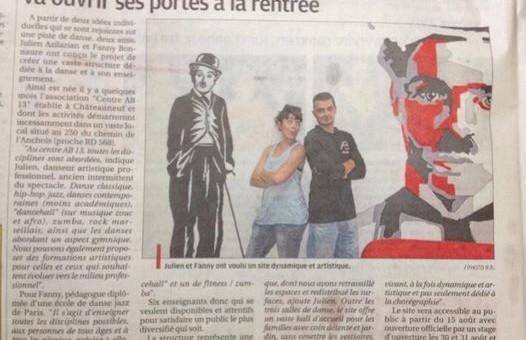 Centre ab13 article paru dans le journal la provence - Journal le provencal ...